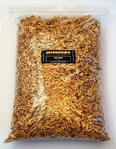 BBQ Wood fumage Cerise 1 kg Cherry pour le barbecue boule ou Fumoir