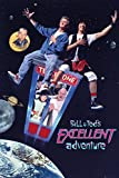 POSTER STOP ONLINE Bill & Ted's Excellent Adventure - Movie Poster (Regular Style) (Size 24 x 36')