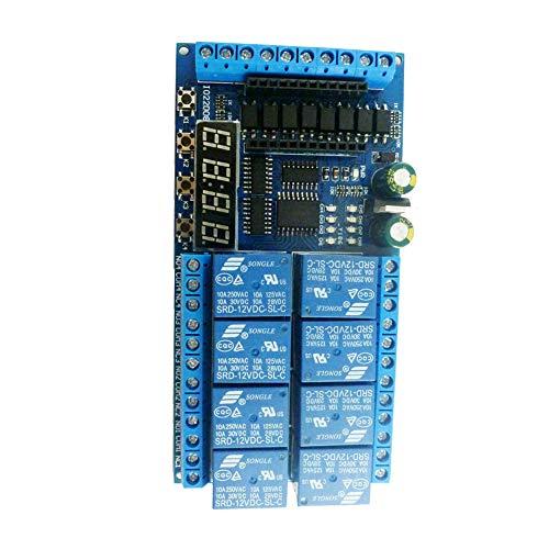 Módulo de relé de 12v 8 canales de retransmisión por cable Mini...