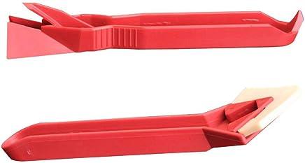 Aiming 2pcs / Set Mini Hechos a Mano Herramientas raspador Utilidad práctica Piso Tile Cleaner Limpiador de Superficies Pegamento Residual Pala