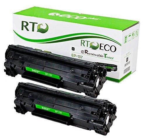 Renewable Toner Compatible Toner Cartridge Replacement for Canon 137 9435B001AA ImageCLASS D570 LBP151 MF212 MF216 MF217 MF227 MF229 MF232 MF236 MF244 MF247 MF249 (2-Pack)