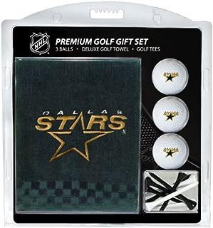 Team Golf NHL Gift Set Embroidered Golf Towel, 3 Golf Balls 14 Golf Tees 2-3/4