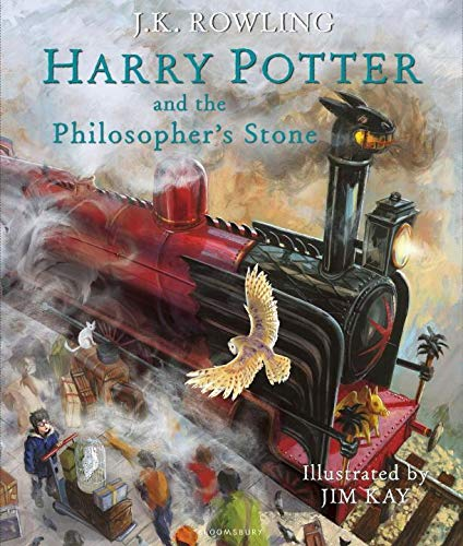Harry Potter and the Philosopher's Stone: Illustrated Edition (Harry Potter Illustrated Edtn, Band 1)