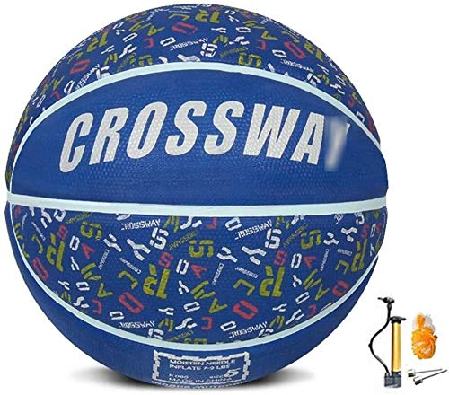 Review Of ZHOU.D.1 Basketball- Children's Rubber Wear-Resistant Basketball NO.4-5 Indoor and Outdoor...