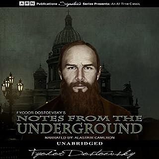 Notes from the Underground                   Autor:                                                                                                                                 Fyodor Dostoyevsky                               Sprecher:                                                                                                                                 Alastair Cameron                      Spieldauer: 4 Std. und 4 Min.     1 Bewertung     Gesamt 4,0