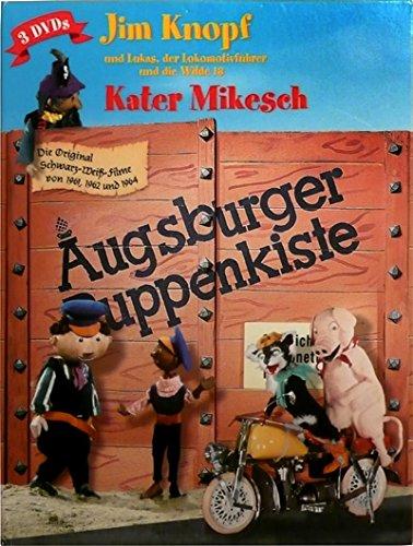 Augsburger Puppenkiste (Jim Knopf und Lukas, der Lokomotivführer und die wilde 13 / Kater Mikesch) [3 DVDs]