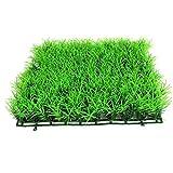 Hiinice Turf Simulada Agua De La Hierba Acuario Plástico Césped Artificial Grass Ornamento Decoración Pecera Herramientas Convenientes