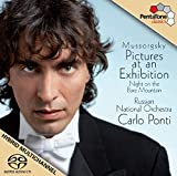 Mussorgsky: Cuadros De Una Exposicion, Noche En El Monte Pelado / Russian National Orch. - Ponti