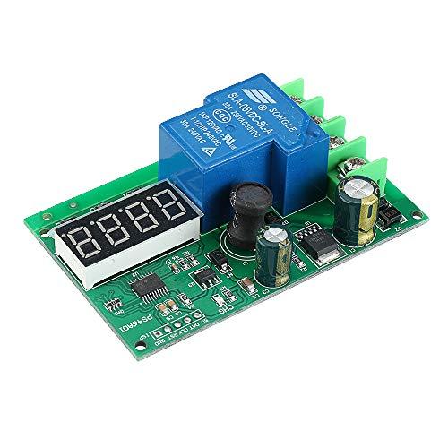 ILS - PS46A01 6-60V Batería Módulo de protección de carga con LED Display Módulo de control cargador Funda de litio Batería Tarjeta interruptor de control
