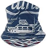 asdew987 Quints Amity Island Boat Tours - Máscara facial para polvo, al aire libre, festivales, deportes