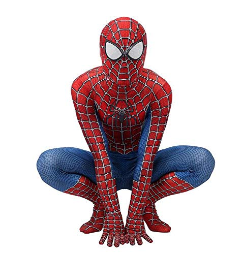 Kind Volwassen Spiderman Homecoming Kostuum Halloween Carnaval Cosplay Spiderman pak Spandex/Lycra 3D Print Spiderman M Child