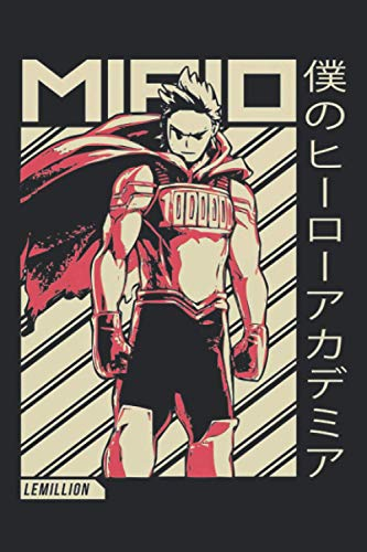 Mirio Togata Lemillion My Hero Academia Anime Notebook: (110 Pages, Lined, 6 x 9)
