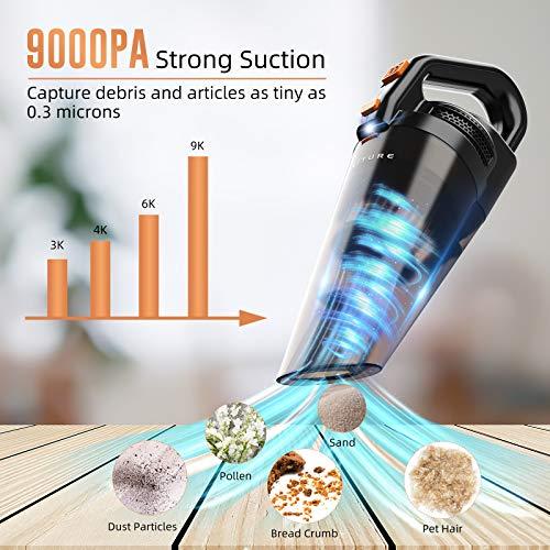 Honiture Handheld Vacuum