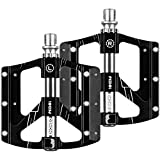 ENONEO Mountain Bike Pedals CNC Aluminum High-Strength MTB Pedals with 3 Sealed Bearing