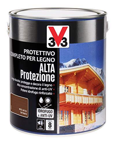 V33 Protettivo Completo Alta Protezione A Solvente Noce Antico 2.5 l
