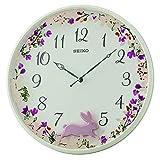 Seiko Reloj de Pared con péndulo Blanco de plástico QXC238W
