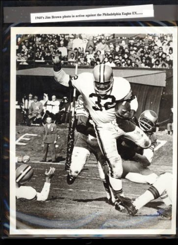 "Jim Brown Cleveland Browns NFL 1960's Original 8""x10"" Photo"