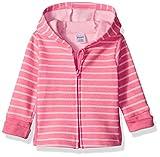Hanes Ultimate Baby Zippin Fleece Hoodie, Pink Stripes Print, 12-18 Months