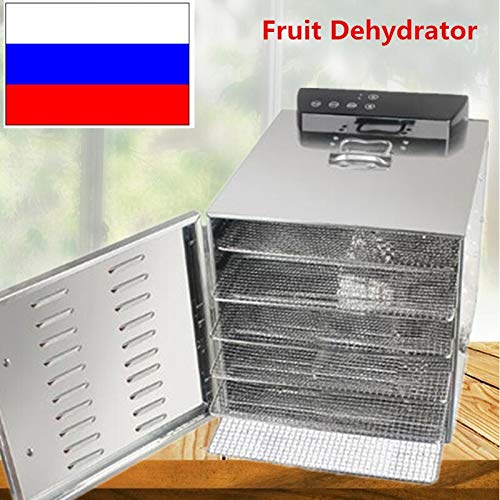Great Features Of FANHUA Stainless Steel 110V Food Dehydrator Fruits Vegetable Herb Drying Machine S...