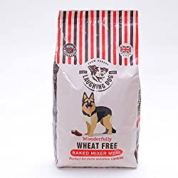 WHEAT FREE - No added wheat or wheat gluten, soya or dairy. Our traditionally oven-baked crunchy biscuits help to remove plaque and keep your dog's teeth clean! GREAT ADDITION - Perfect accompaniment to raw diets or cooked meat, especially our Laughi...