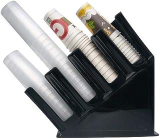 فاصل أكواب للاستعمال مرة واحدة، حامل أكواب تاكيواي مكون من قطعة واحدة على شكل عظمة