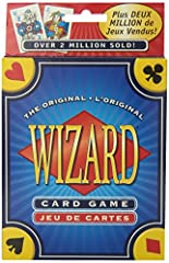 """More fun than Hearts and Rummy, award-winning Wizard is """"the Ultimate Game of Trump"""" the whole family can enjoy The Rules Are Easy To Learn -- The Strategy Adds An Exciting Challenge In Wizard, Players Try To Win The Exact Number Of Tricks They Bid"""