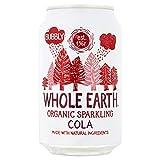 Whole Earth Refresco de Cola Sin Azúcar Bio - Paquete de 24 x 330 ml - Total: 7920 ml...