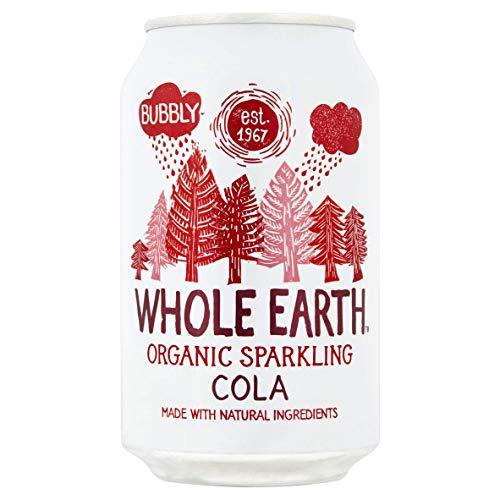 Whole Earth Refresco de Cola Sin Azúcar Bio - Paquete de 24 x 330 ml - Total: 7920 ml