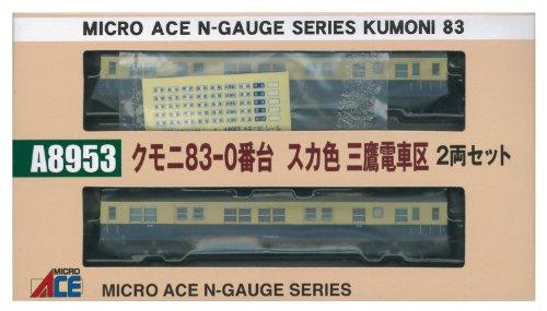 クモニ83-0番台 スカ色 三鷹電車区 2両セット A8953