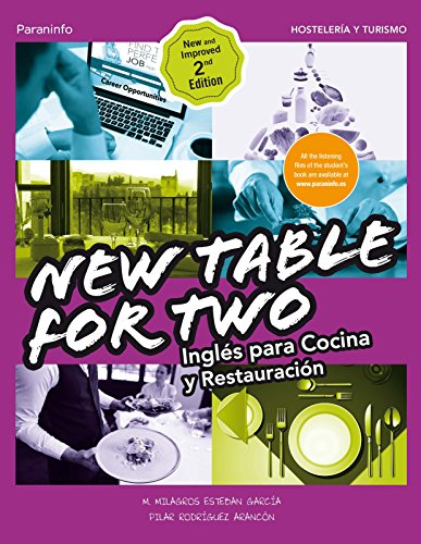 New Table for two. Inglés cocina restauración