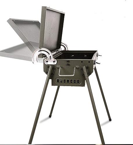 DMMW Poêle Multi-usages extérieur pour Barbecue de Charbon de Bois portatif extérieur Multifonctionnel