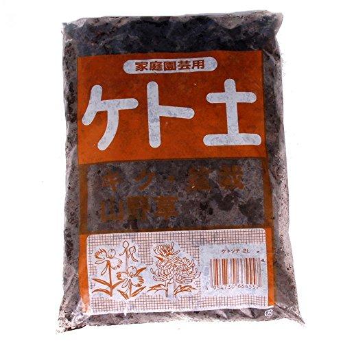 Bonsai-Erde Keto, japanischer Schwarztorf f. Felspflanzungen 2 L.