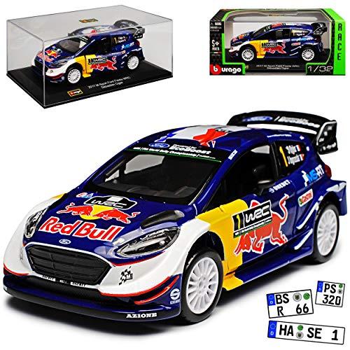 Bburago Ford Fiesta WRC M-Sport 2017 Sebastien Ogier Weltmeister 1/32 Modell Auto