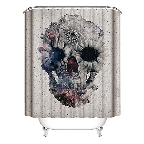 DREAMING-Home Hotel Bathroom Partition Curtains Shower Curtain Polyester Waterproof Mildew Shower Curtain Bathroom Curtain 180cm*180cm