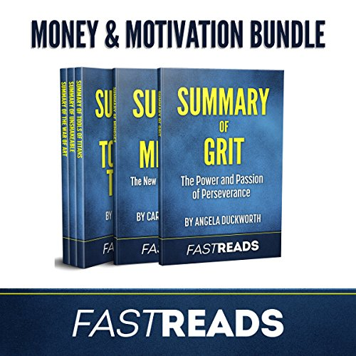 FastReads Money & Motivation Book Bundle audiobook cover art