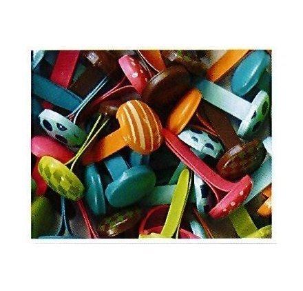 Pw International - Fermacampioni, confezione da 60 pezzi, collezione Bollywood