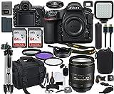 Nikon D850 DSLR Camera (1585) with 24-120mm Lens Bundle + Prime Accessory Kit Including 128GB Memory, Light, Camera Case, Hand Grip & More
