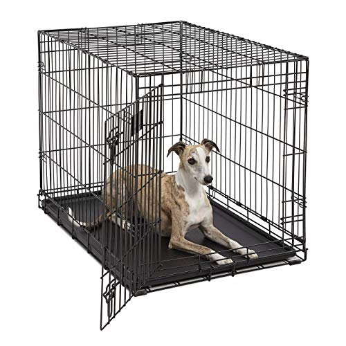 Life Stages LS-1636 Single Door Folding Crate for Intermediate Dogs(41 -...