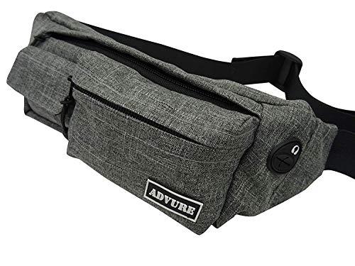 Hüfttasche Herren und Damen Bauchtasche Gürteltasche Tasche - wasserabweisend – Handytasche zum Sport, Reisen und Joggen