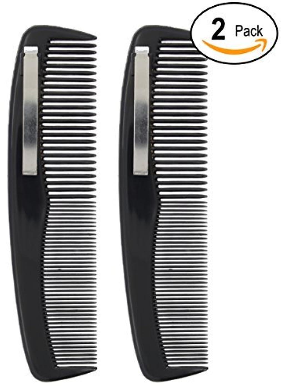 反発未払い反対2 Black Pocket Comb - 5