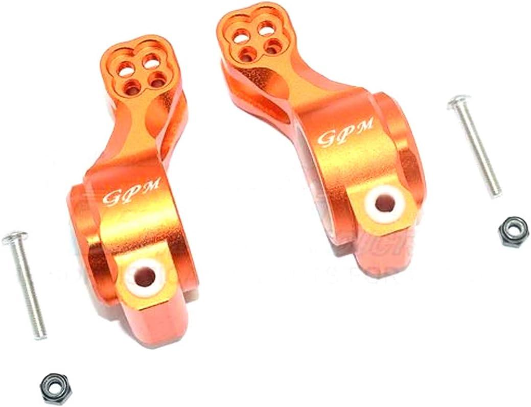 Black 6PC Set GPM Arrma SENTON//Talion//Infraction//Limitless Aluminum Rear Knuckle ARM
