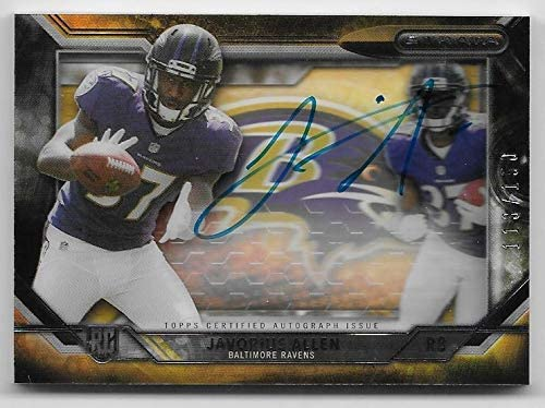 2015 Tampa Mall Topps A surprise price is realized Strata #JAL Javorius #113 Allen Rookie 150 Autograph