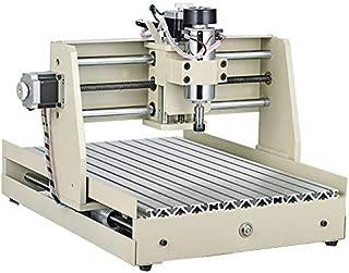 3 Axis CNC 3040 Router Engraver Machine Mini Drill Mill Motor DC Port 400W USB 110V 60HZ DIY 3D Cutter VFD