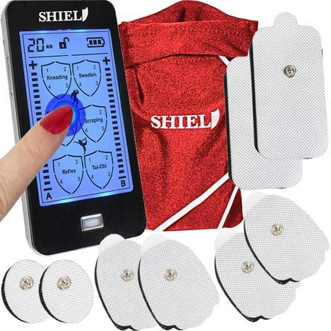 Shield Touchscreen Rechargeable TENS Unit Electronic Massager