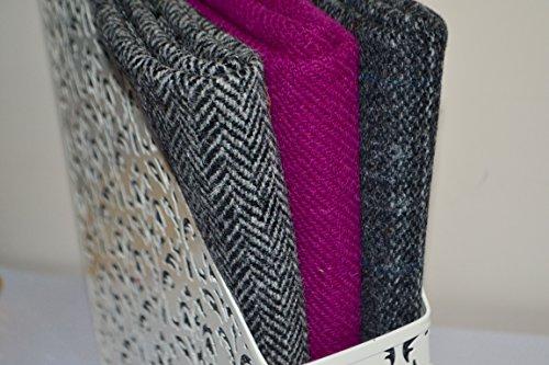 HARRIS TWEED tela 100% pura lana virgen pequeñas medianas y grandes del arte varios colores también se venden en paquetes de metro y medio metro - ver sierva HARRIS TWEED de rango de Reino Unido, Mix 1, Medium 36/25cm