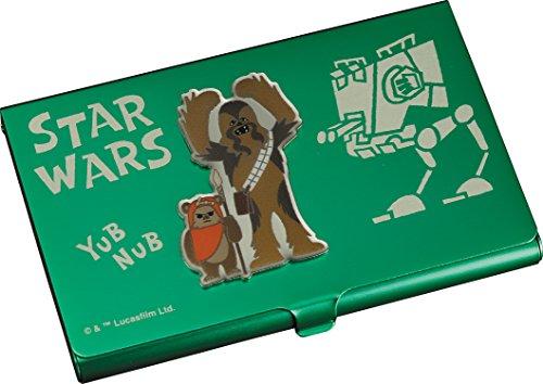 Star Wars GY039 Chewbacca and Ewok - Tarjetero
