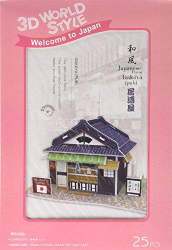 3D puzzle en trois dimensions World Series style 3D taverne W3102h (japon importation)