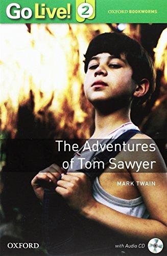 Go Live! Reader 2. Tom Sawyer - Book [Lingua inglese]