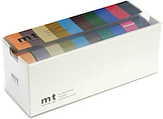 MT Washi Masking Tapes Set of 10, Cool Colors (MT10P004)