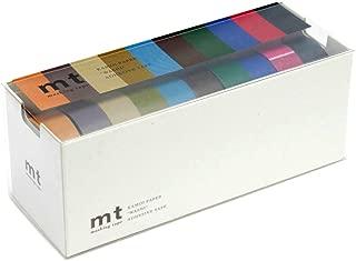 MT Washi Masking Tapes Set of 10, Cool Colors (MT10P004)